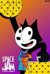 Felix the Cat in Space Jam: A New Legacy by AldrineRowdyruff