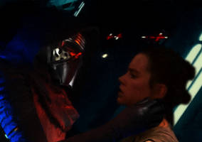 Kylo Ren Interrogates Rey by Jones6192
