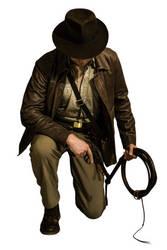Indiana Jones Cosplay Full Body Stock #2 by Jones6192