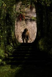 Indiana Jones - Jungle Steps (Fan Art) by Jones6192