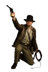 Indiana Jones Cosplay Full Body Stock #4 by Jones6192