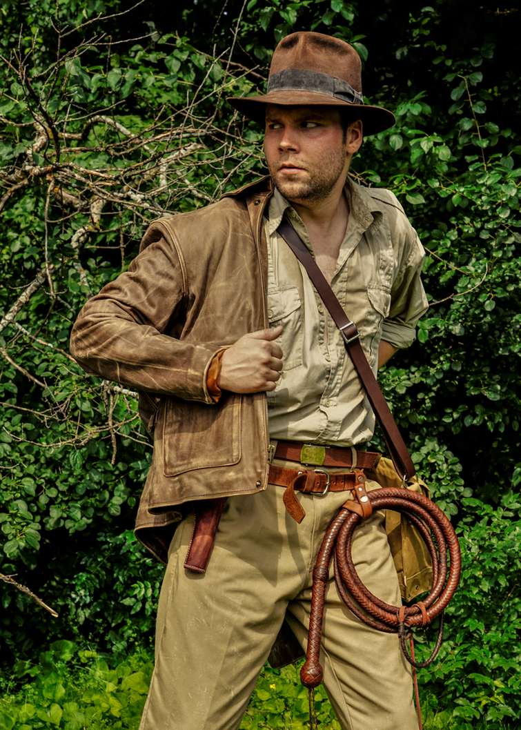 Indiana Jones Cosplay - Suiting Up by Jones6192
