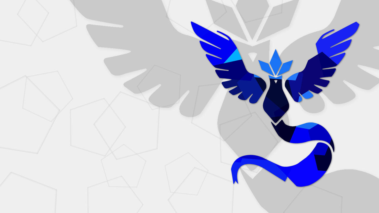Pokemon Go Team Mystic Wallpaper 4k By Veelarius On Deviantart