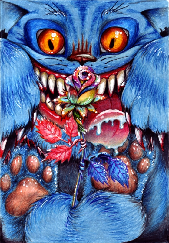 Cheshire Cat by mollus