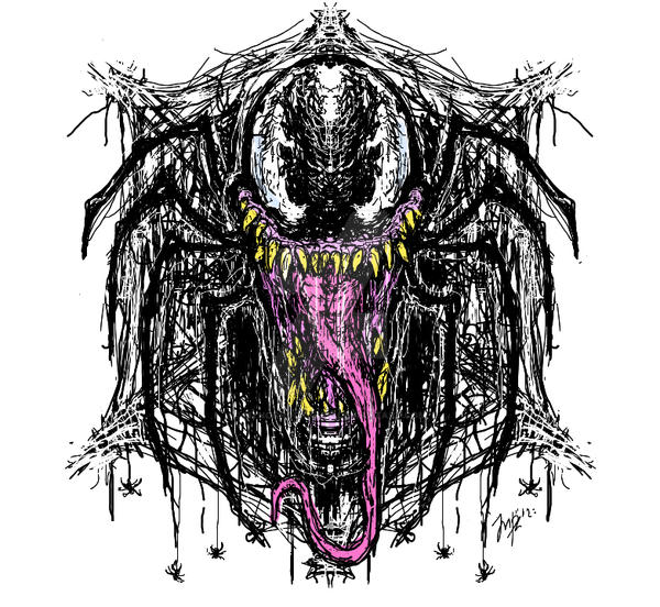 Venom Tee Design by MynorRodriguez