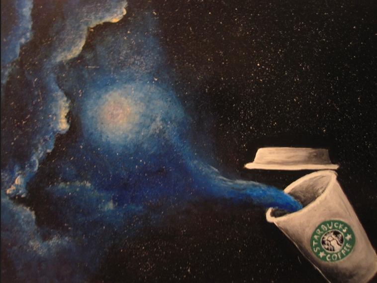 starbucks galaxy wallpaper - photo #30