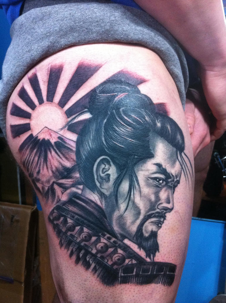 samurai tattoo by christianmasot