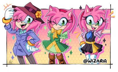 Have no fear, Amy rose is here.