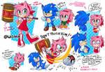 Amy Sonic movie style