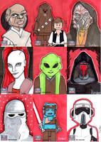 Star Wars Galaxy 7 retail cards part 5 by jdurden44