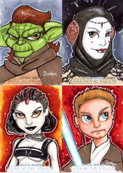 Star Wars Galactic Files cards by jdurden44