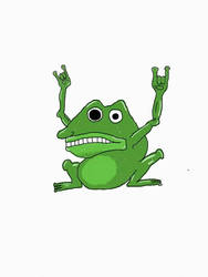 Frog yeah! by greenthumb1075