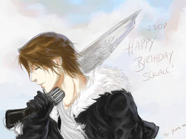 FFVIII - Happy Birthday Squall by Yuen-Li