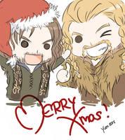 The Hobbit - Merry Christmas! by Yuen-Li