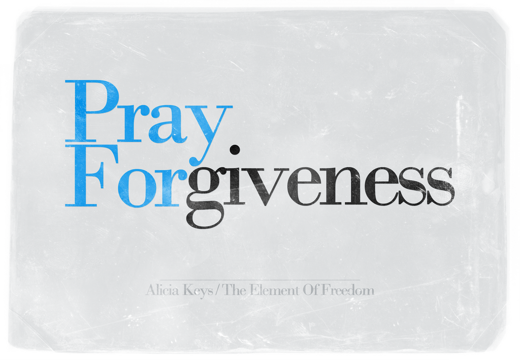 Pray For Forgiveness by likhitha