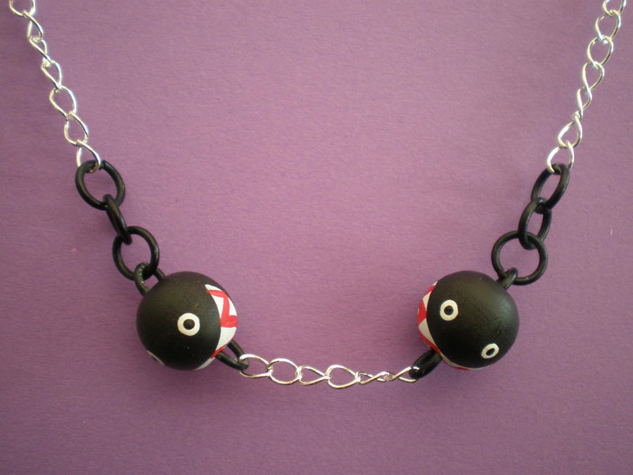 Chain Chomp Necklace by Omonomopoeia