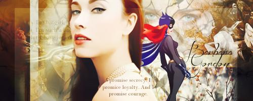 Batgirl- Firma by Veru-Veruca