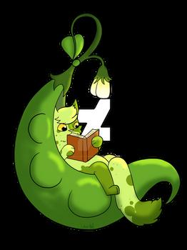 Green Bean Pod Reading