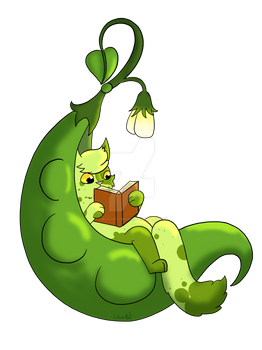 Green Bean Pod Reading