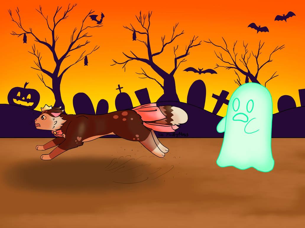 Halloween Chase YCH - UrsidaeAngeni