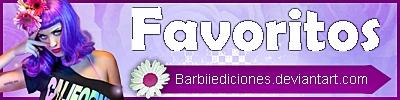 Favoritos by Barbii-Ediciones