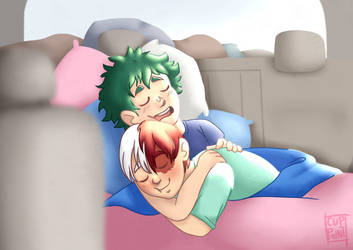 Tododeku Cuddles by cuppaint