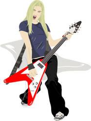 Avril Lavigne by mijoy