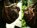Leather Bag in 'action'
