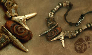 Bone Necklace by Lynfir