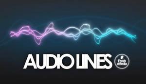 GIMP Audiolines Brushes