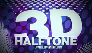 GIMP 3D Haltone Brushes