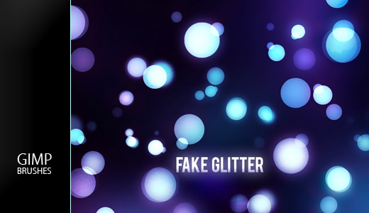 GIMP Fake Glitter Brushes by Graphicclouds