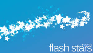 GIMP Flash Star Brushes