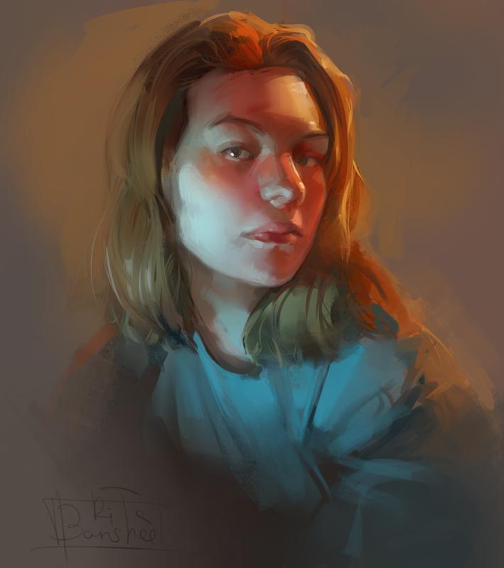 Portrait 1 by BansheeMargarita