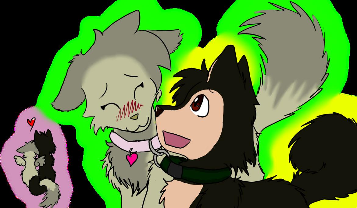 Fanart-CuteBPgirl and Gkim34 by XspottedclawX