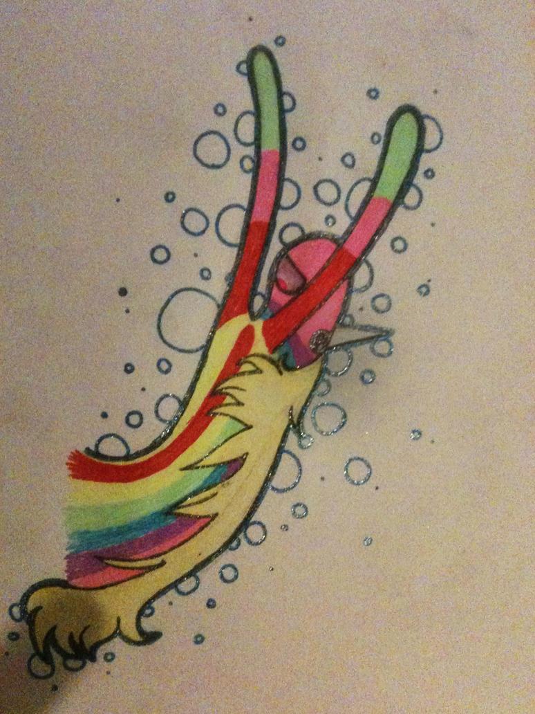 LADY RAINICORN by XspottedclawX