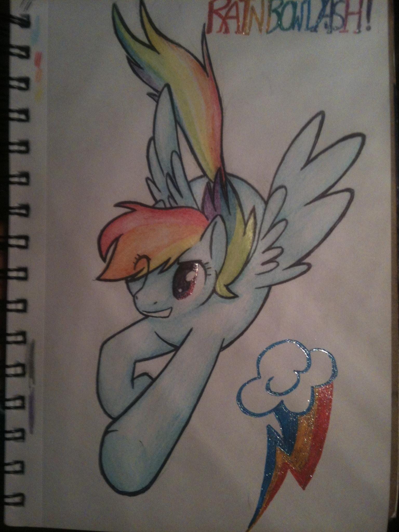 Rainbowdashhhh by XspottedclawX