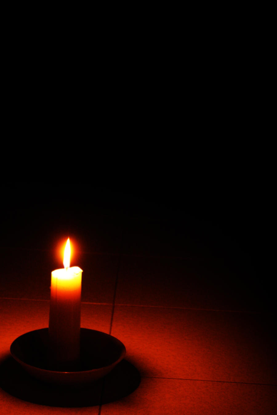 candle in the dark - photo #8