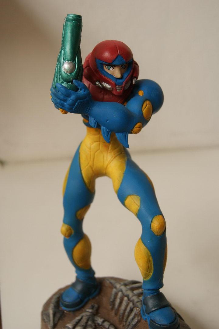 Samus From Metroid Fusion By JokerZombie On DeviantArt