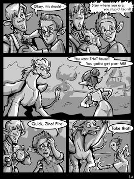 Boo and Zino - Comic Page 14