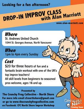 CFC Improv Workshop flyer