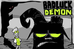 Badluck Demon Title