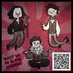What time is it? What We Do In The Shadows Time!