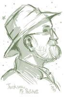 Sir Terry Pratchett by mct421