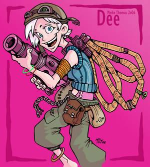 Goop Gunners - Dee