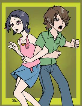 Noein - Haruka and Yuu