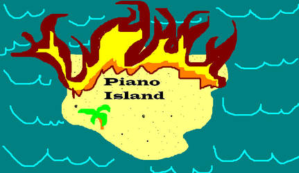 Piano Island by Bhrae