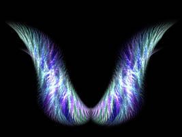 Fractal Angel Wings by DatenTanzBaer