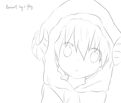 Lineart Anime Boy : Cute anime boy taurus lineart by yinyinz on deviantart