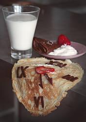 Salvador's breakfast